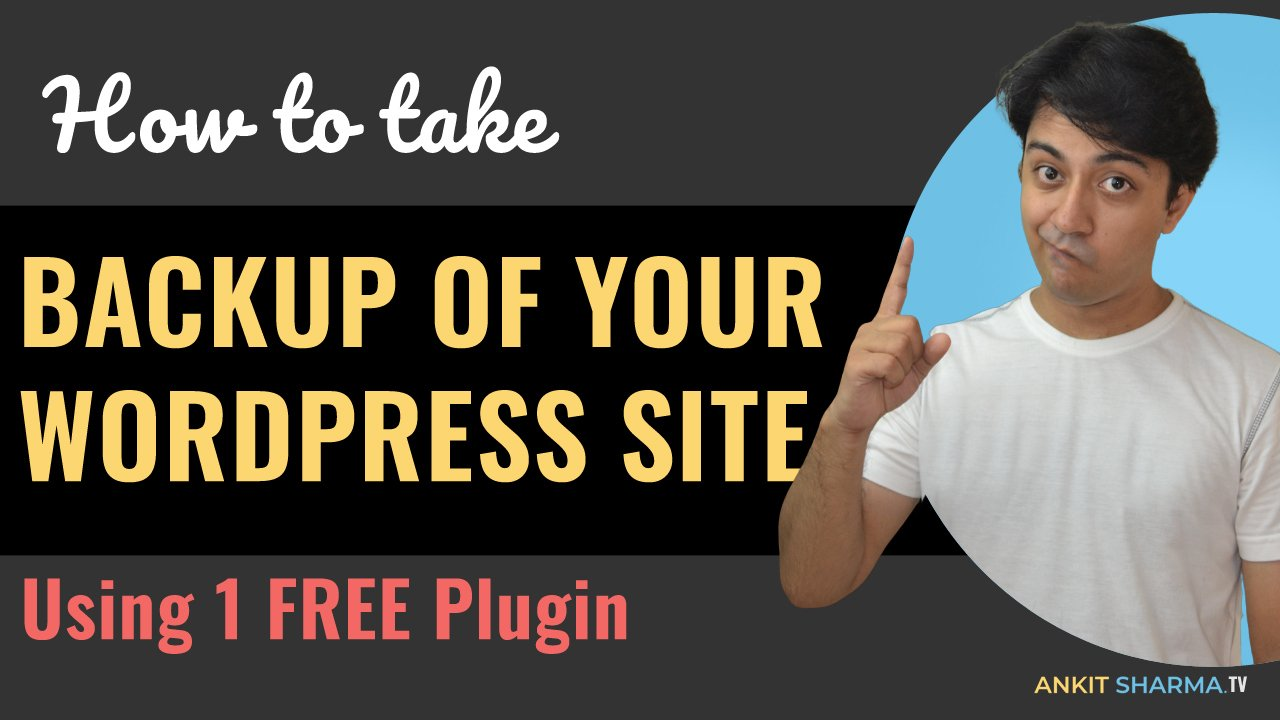 How to take Backups for Wordpress website