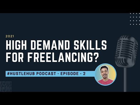 Top 8 high demand freelancing skills in 2021 in India